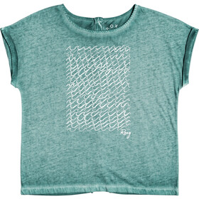 Roxy Summertime Happiness T-Shirt Femme, north atlantic
